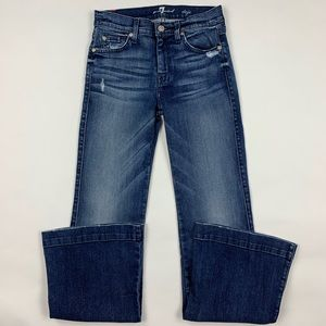 7 For All Mankind DOJO Flare Jeans Sz 25